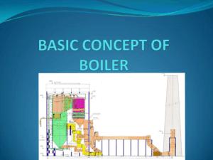 Basic Consepts of Boiler