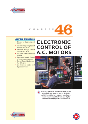 A textbook of electrical technology By theraja-volume 3 Chapter46