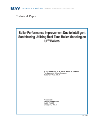 Boiler Performance Improvement Due to Intelligent Sootblowing Utilizing Real-Time Boiler Modeling on UP Boilers