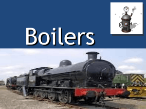 Boilers Classifications