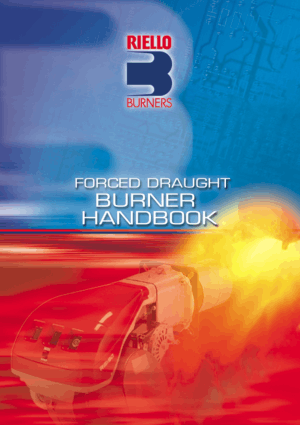 Burner Handbook by FORCED DRAUGHT