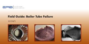 Field Guide Boiler Tube Failure