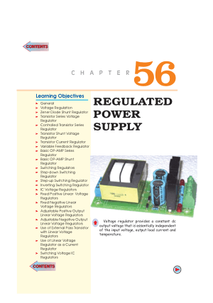 A textbook of electrical technology By theraja-volume 4 Chapter56