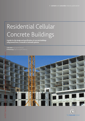 Residential Cellular Concrete Building