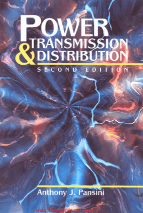Power Transmission And Distribution 2nd Edition By Anthony J. Pansini