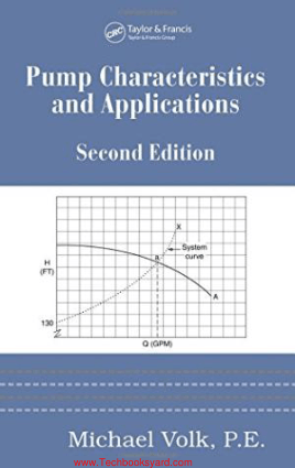 Pump Characteristics and Applications 2nd Edition By Michael Volk