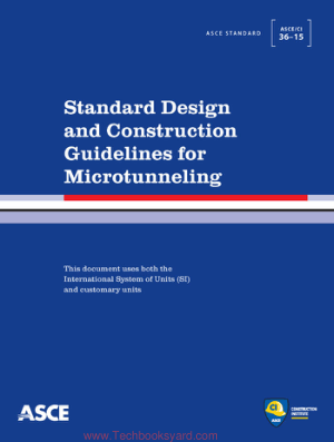 Standard Design and Construction Guidelines for Microtunneling