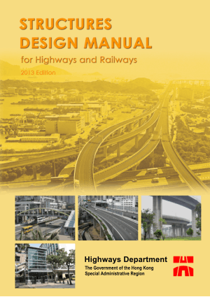 STRUCTURES DESIGN MANUAL for Highways and Railways