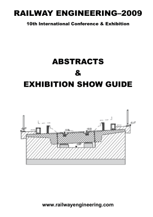RAILWAY ENGINEERING ABSTRACTS AND EXHIBITION SHOW GUIDE