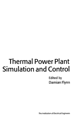 Thermal power plant simulation and control Damian Flynn