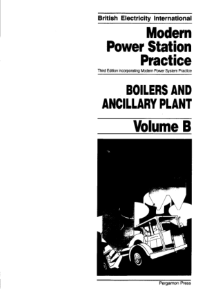 modern power station practice boilers and ancillary plant