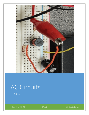 AC Circuits 1st Edition Davis
