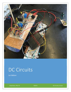 DC Circuits 1st Edition Davis