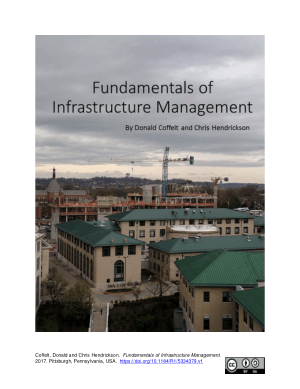 Fundamentals of Infrastructure Management By Don Coffelt and Chris Hendrickson