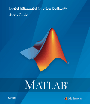 Partial Differential Equation Toolbox documentation