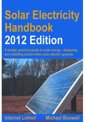 Solar Electricity Handbook 2012 Edition