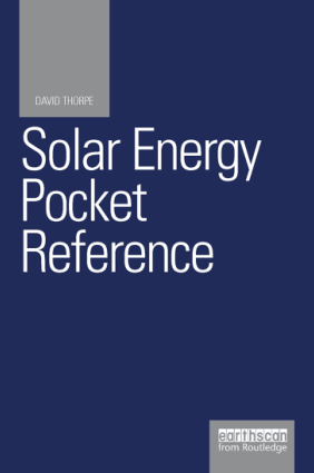 Solar Energy Pocket Reference David Thorpe