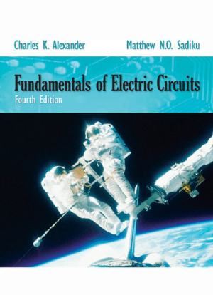 Fundamentals Of Electric Circuits 4th Edition By Charles K Alexander
