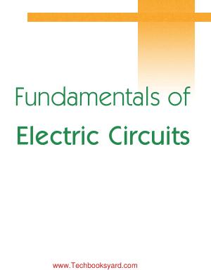 Fundamentals Of Electric Circuit