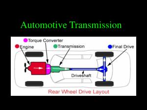 automatic transmission tutorial