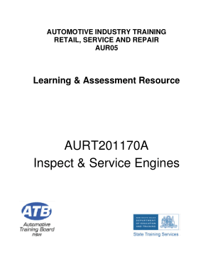 automotive industry training learning and assessment resource