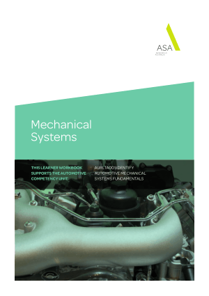 automotive mechanical systems fundamentals