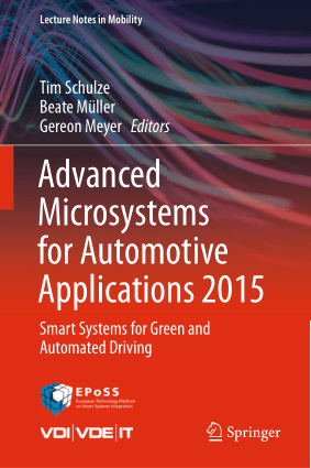 Advanced Microsystems for Automotive Applications Tim Schulze