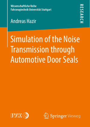 Simulation of the Noise Transmission through Automotive Door Seals Andreas Hazir