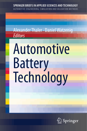 Automotive Battery Technology Alexander Thaler