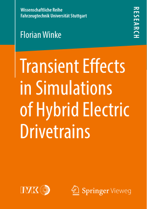 Transient Effects in Simulations of Hybrid Electric Drivetrains Florian Winke