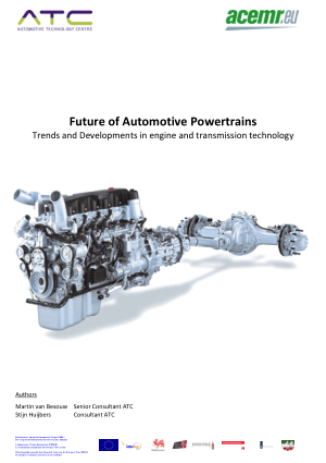 Future of Automotive Power trains
