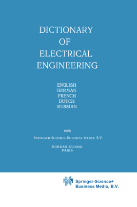 Dictionary of electrical engineering