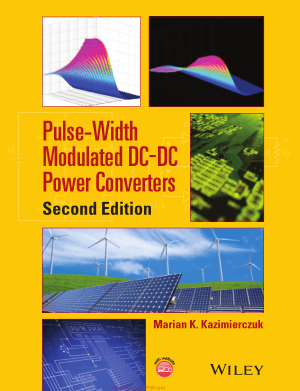 Pulse Width Modulated DC DC Power Converters Second Edition By Marian K Kazimierczuk
