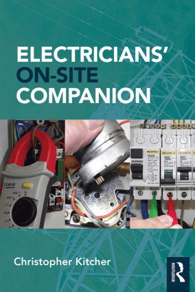 Electricians On Site Companion By Christopher Kitcher