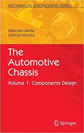 The Automotive Chassis Vol 1 Components Design Giancarlo Genta