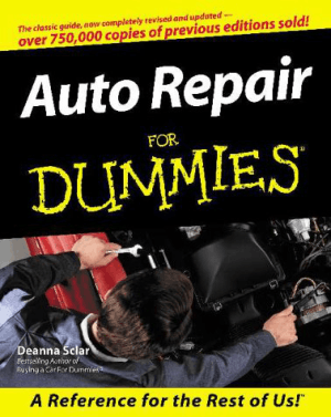 Auto Repair For Dummies Deanna Sclar
