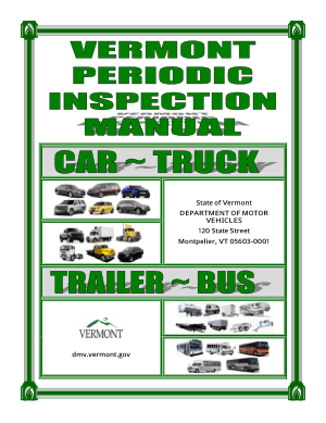 Vehicle Inspection Manual