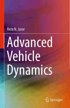 Advanced Vehicle Dynamics Reza N Jazar