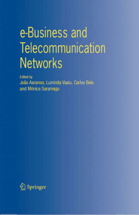 E-business and telecommunication networks Joao Ascenso