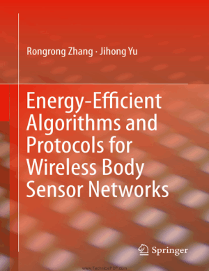 Energy-Efficient Algorithms and Protocols for Wireless Body Sensor Networks by Rongrong Zhang