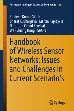 Handbook of Wireless Sensor Networks Issues and Challenges in Current Scenarios