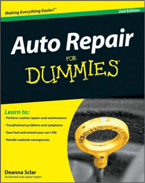 Auto Repair for Dummies 2nd Edition by Deanna Sclar