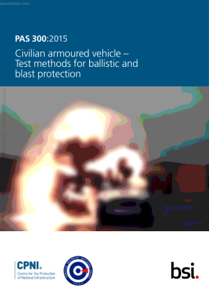Civilian armoured vehicle Test methods for ballistic and blast protection
