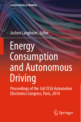 Energy Consumption and Autonomous Driving Jochen Langheim