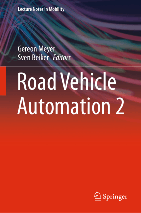 Road Vehicle Automation 2 Gereon Meyer