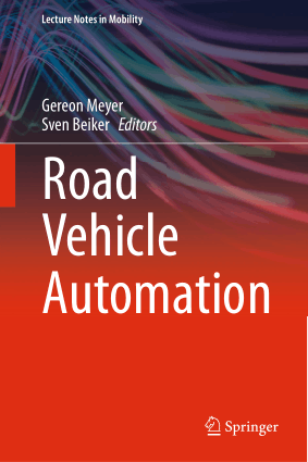 Road Vehicle Automation Gereon Meyer
