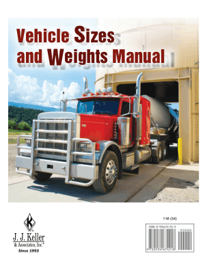 Vehicle Sizes and Weights Manual J J Keller