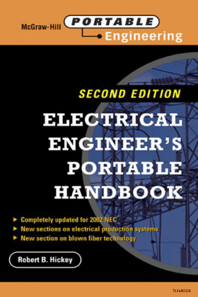 Electrical Engineerings Portable Handbook Second Edition By Robert B. Hickey