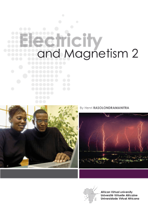 Electricity and Magnetism 2 by Henri Rasolondramanitra