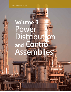 Power Distribution and Control Assemblies Volume 3